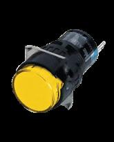 Đèn báo dòng A6 tròn vàng