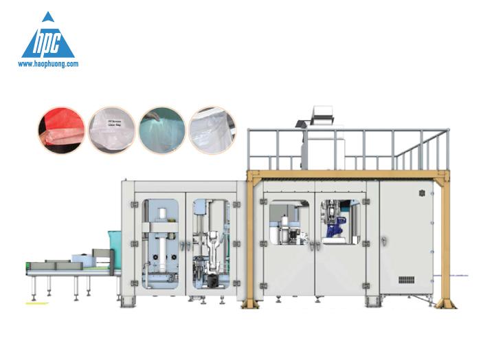 Hạo Phương cung cấp hệ thống Robot đóng bao OMBA
