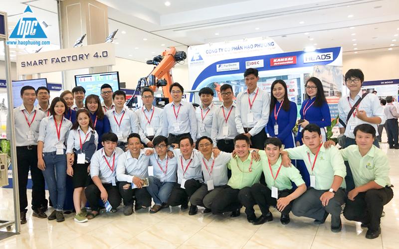 Hạo Phương tham gia triển lãm VIMF 2019